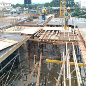 tableform and formwork fixing